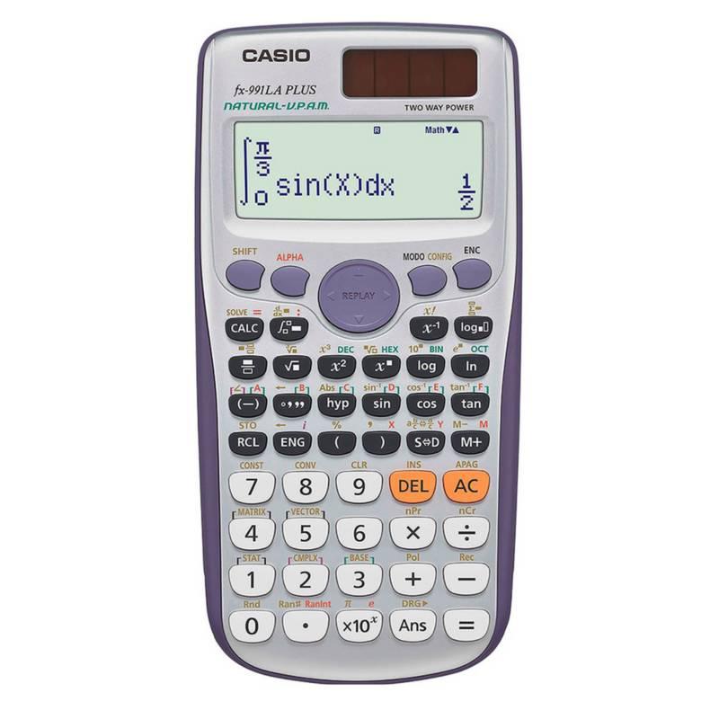 CASIO - Calculadora Estándar Fx991la Plus
