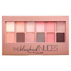 MAYBELLINE - Paleta De Sombras The Blushed Nudes 0.34 Fl Oz