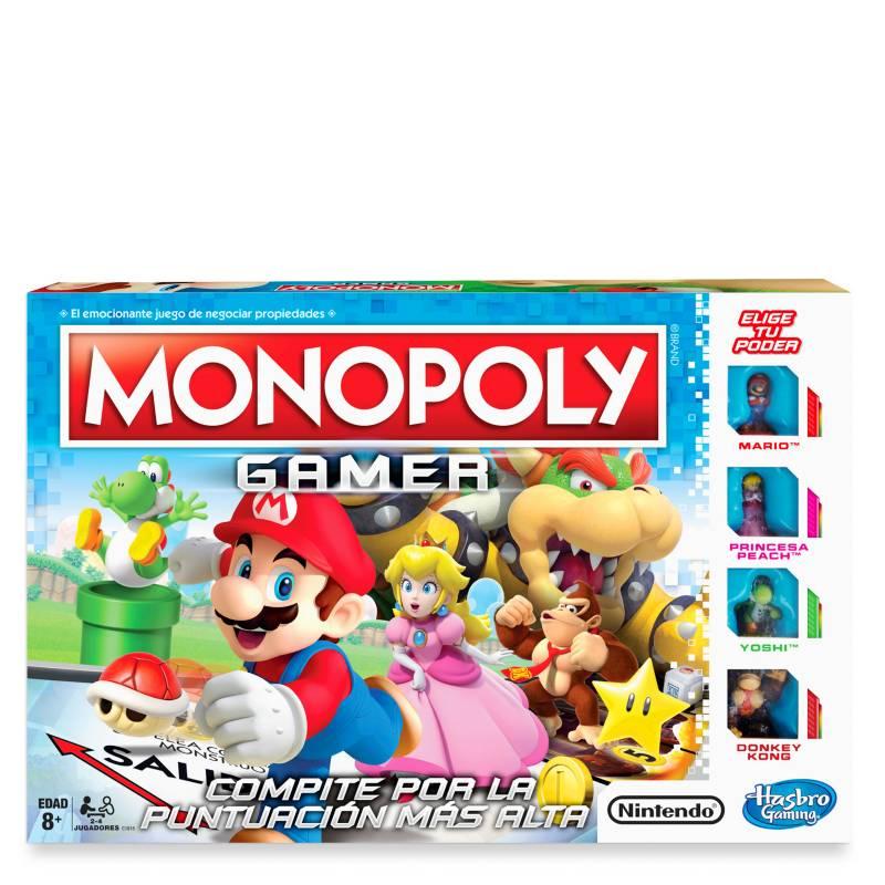 HASBRO GAMES - Monopoly Gamer