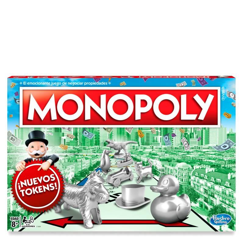HASBRO GAMES - Monopoly Clásico