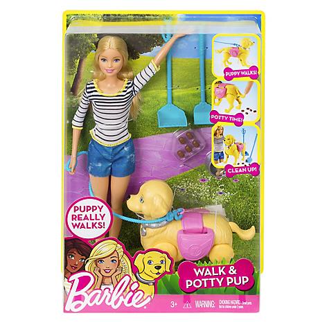 Muñeca De Muñeca Barbie Paseo Paseo De Perrito Barbie tvwwTFqWU