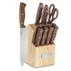 Set de Cuchillos Walnut x 14 Piezas