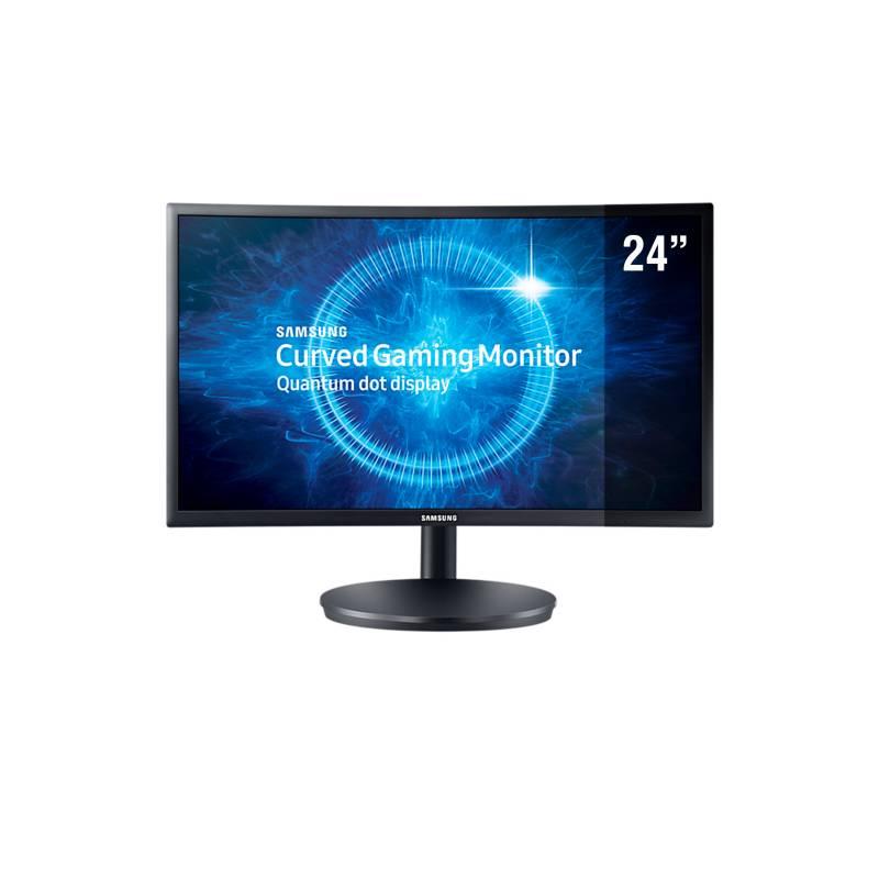 "SAMSUNG - Samsung Monitor Gaming Curvo 24"" LC24FG70"
