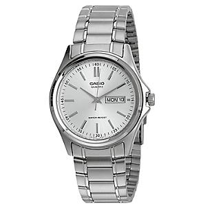 Reloj Casio Hombre Mtp 1239d 7a Plateado Falabella Com