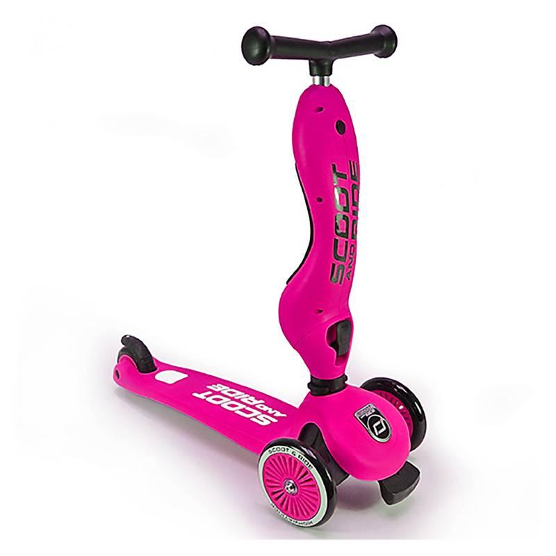 SCOOT & RIDE - Scooter-Bicicleta de Balance Highwaykick Rosa