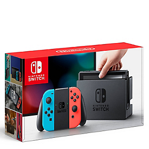 Consola Switch Neon Blue + Controles Joy-Con