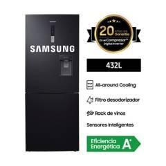 SAMSUNG - Refrigeradora BMF 432 lt RL4363SBABS/PE Inox Oscuro