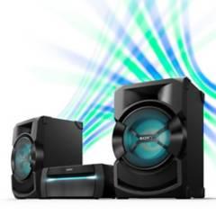 SONY - Equipo de Sonido Sony SHAKEX10 DVD Karaoke