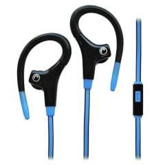 FIDDLER - Audífono Deportivo con Micrófono Azul