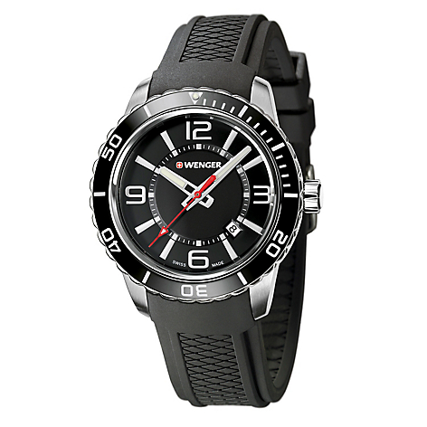 d52753be7a23 Reloj Wenger Hombre Resina Negro - Roadster - Falabella.com