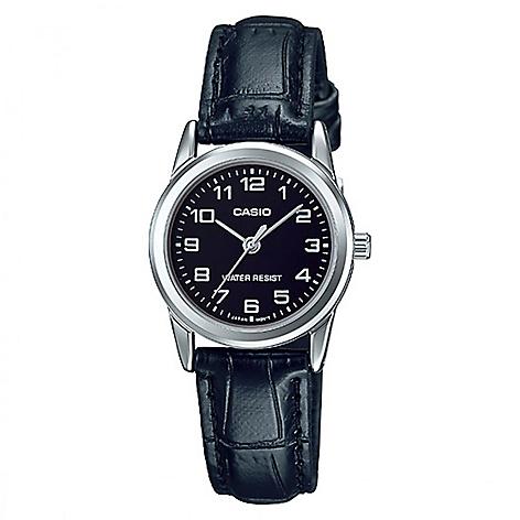 39e563748 Reloj Casio Mujer Cuero Negro - Falabella.com