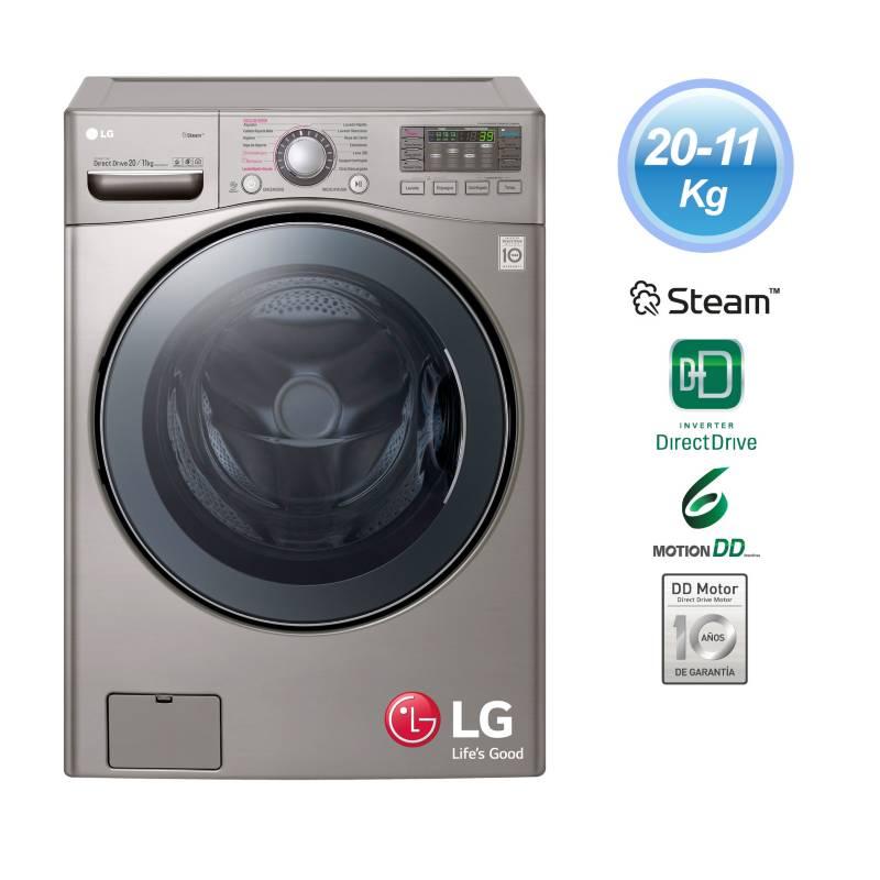 LG - Lavaseca LG F2011VRDS 20/11 Kg