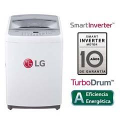 LG - Lavadora LG Carga Superior Smart Inverter con TurboDrum TS1604NW 16 Kg Blanca
