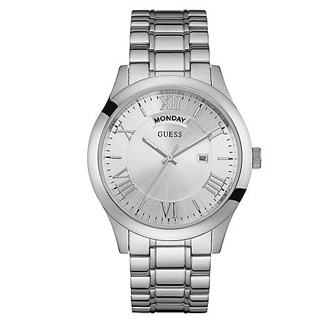 220811e16 Reloj Guess Hombre Acero Plateado - Falabella.com