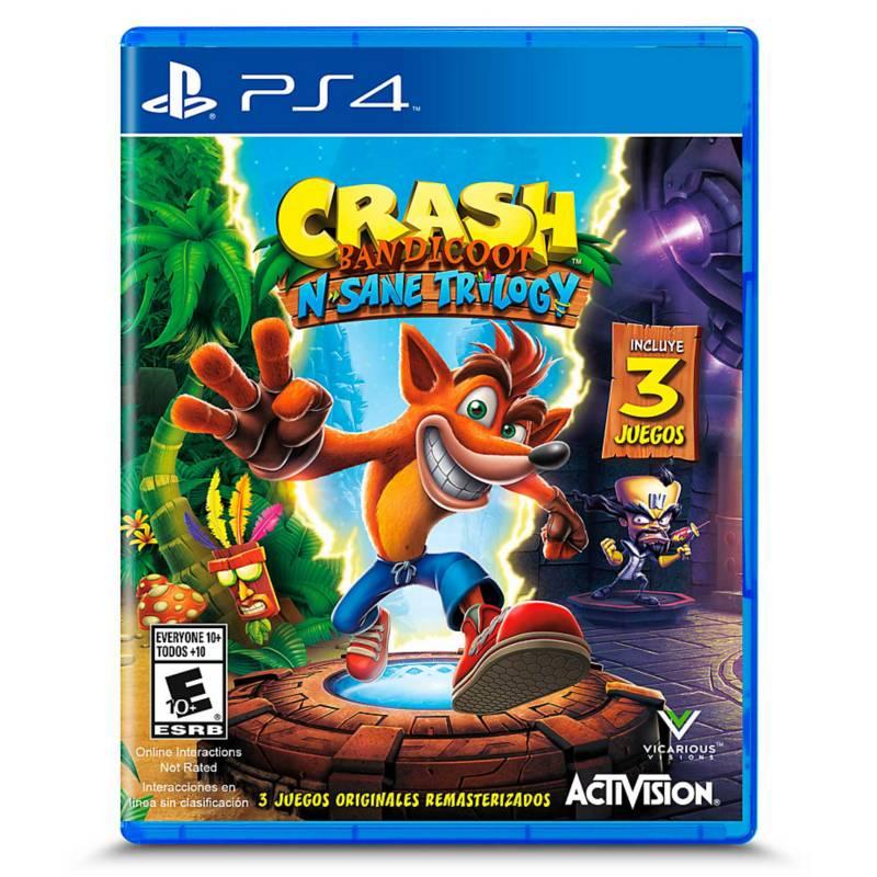 3RAS PARTES - Videojuego Crash Bandicoot Remasterizado