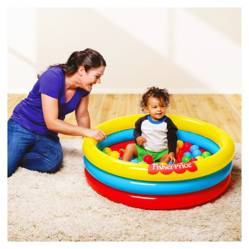 FISHER PRICE - Piscina Inflable con Pelotas