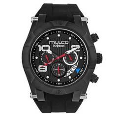 MULCO  - Reloj Hombre Resina Negro