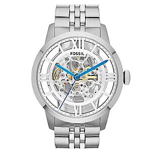 Reloj Fossil Hombre Acero Plateado Falabella Com