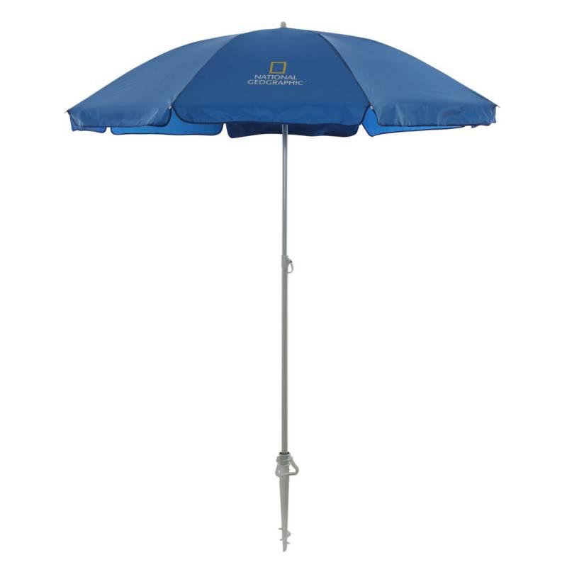 NATIONAL GEOGRAPHIC - Sombrilla 50 UPF Azul