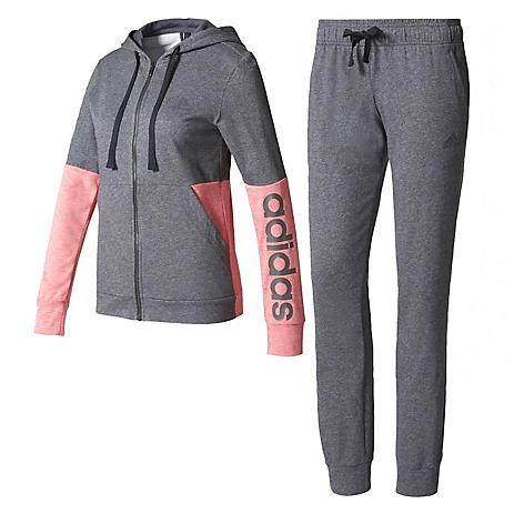 094af96ef89fd Conjunto de Buzo para Mujer Adidas Marker Gris - Falabella.com