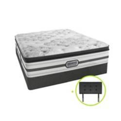Cama Box Tarima Pocket Platinum Pt Queen