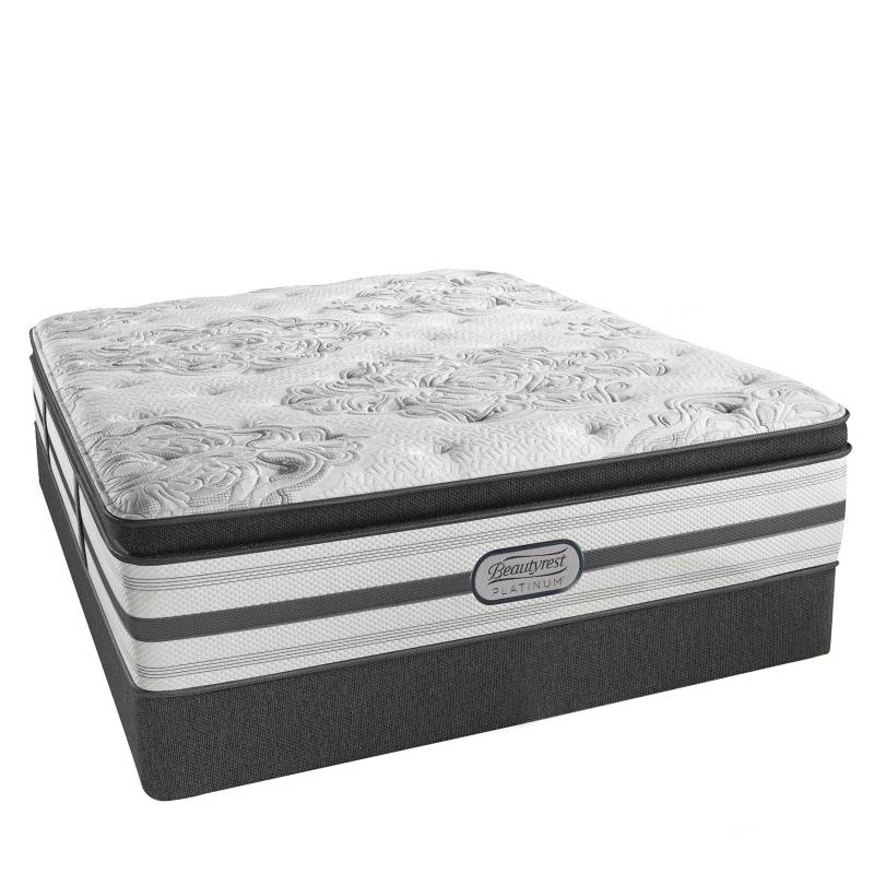 BEAUTYREST SIMMONS - Cama Box Tarima Pocket Platinum Pt King