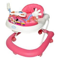 DISNEY BABY - Andador con Bandeja Electrónica Minnie