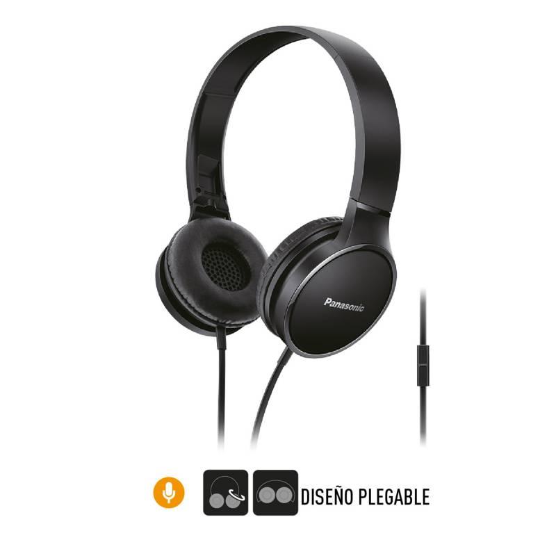 PANASONIC - Audifonos Vincha Panasonic RP-HF300ME-Z Negro