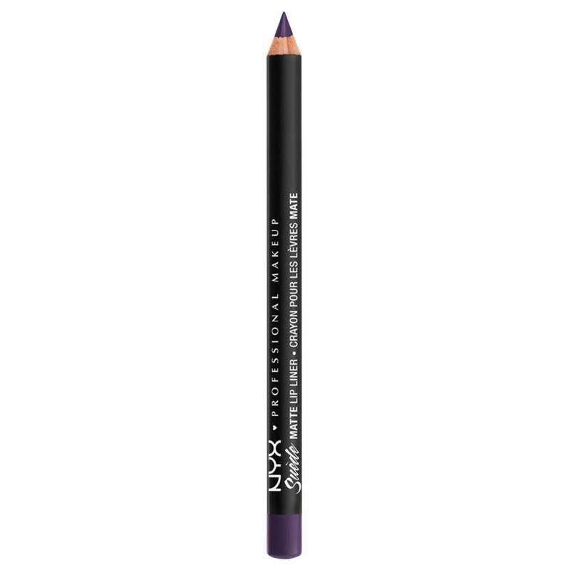 NYX Professional Makeup - Delineador de Labios Suede Matte