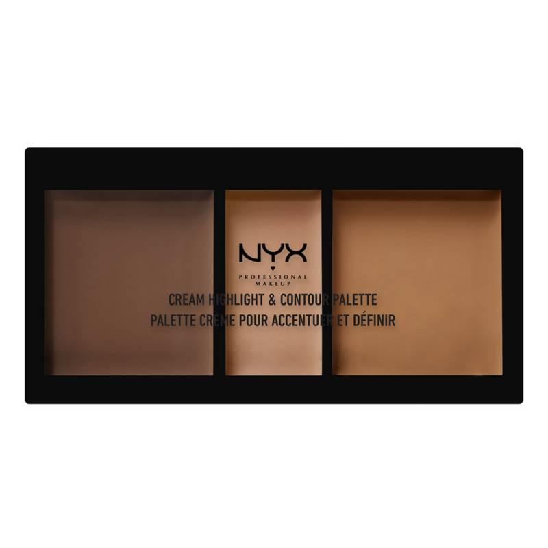 NYX Professional Makeup - Paleta Cream Highlight & Contour