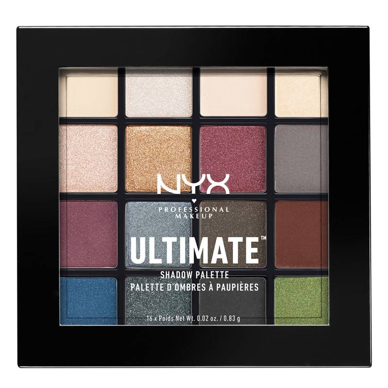 NYX Professional Makeup - Paleta de Sombras Ultimate