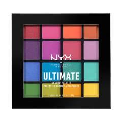 NYX Professional Makeup - Paleta de sombras Ultimate Shadow Palete tono Brights NYX