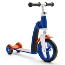 SCOOT & RIDE - Scooter-Bicicleta de Balance Highwaybaby+ Azul con Naranja