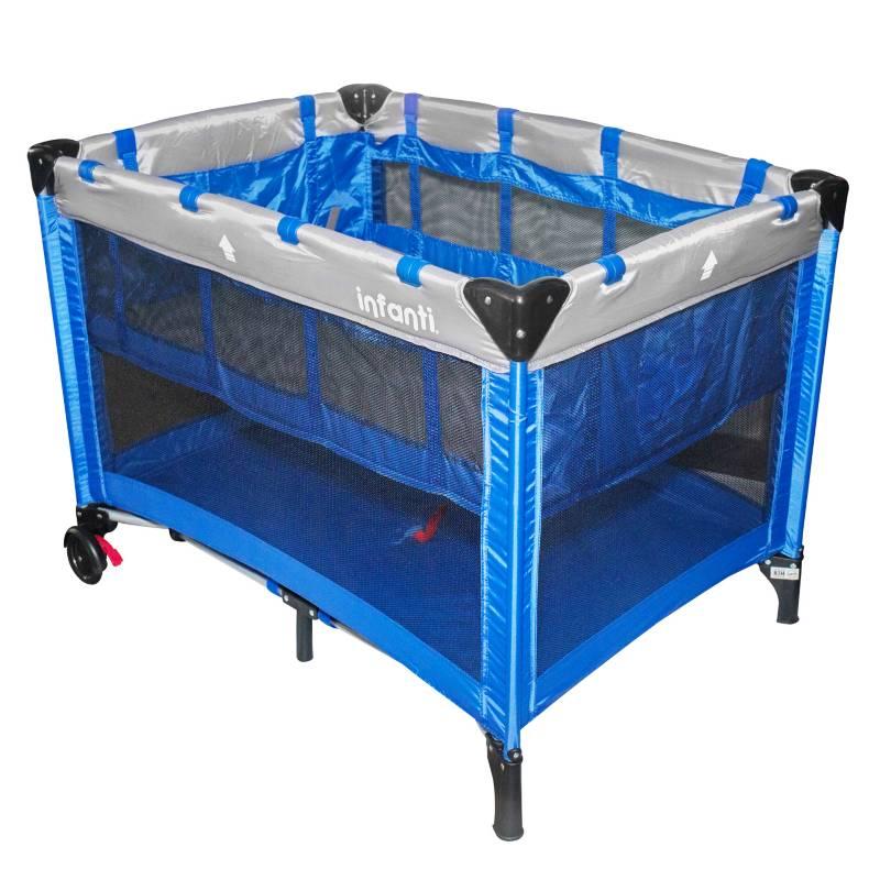 INFANTI - Cuna Corral Azul