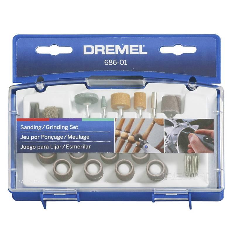 DREMEL - Kit 31 Accesorios Lijado y Esmerilado