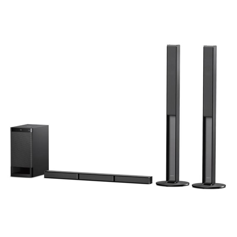 SONY - Home Theater 5.1 canales con barra de sonido Bluetooth HT RT40