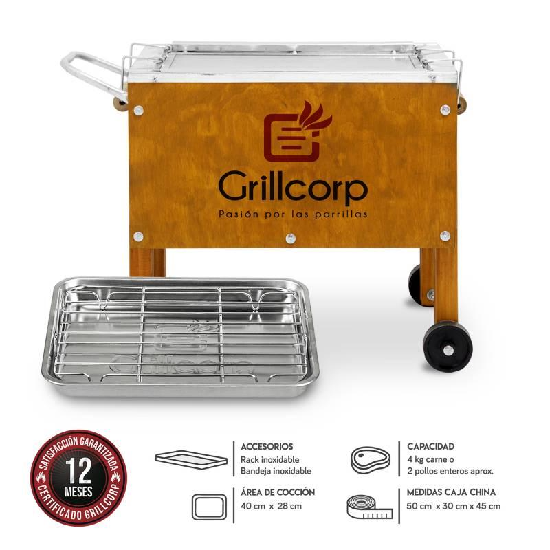GRILLCORP - Caja China Chica Premium