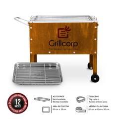 GRILLCORP - Caja China Mediana Junior Premium