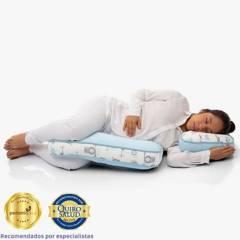 MATERNELLE - Doble Almohada de Lactancia Premium Celeste
