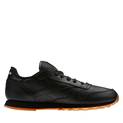 15e0e7bf27cd7 Zapatillas Reebok Classic Leather - Grade School Negro - Falabella.com