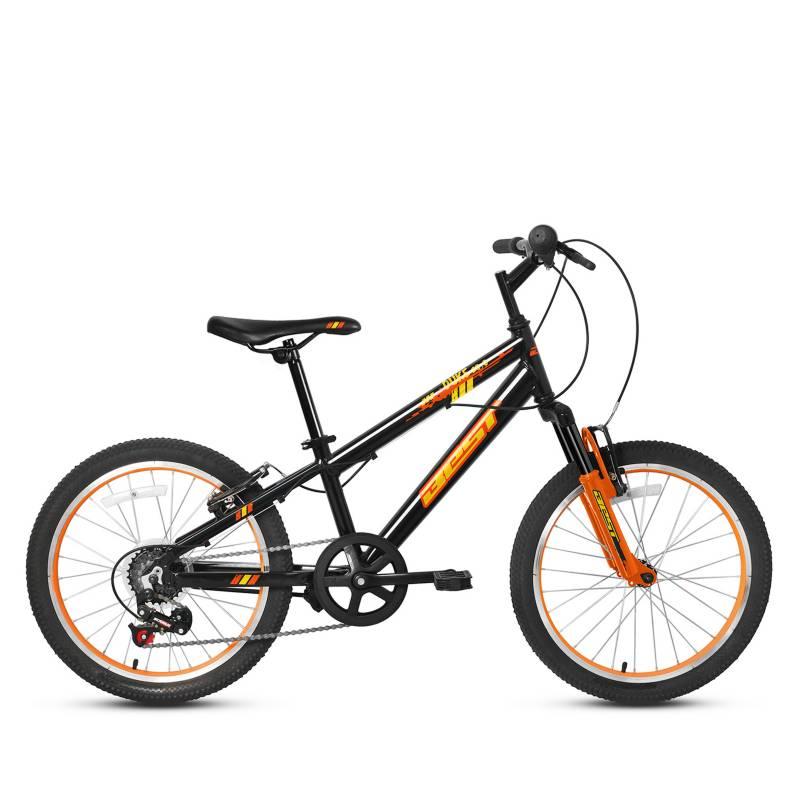 BEST - Bicicleta Duke Aro 20 Gris Naranja