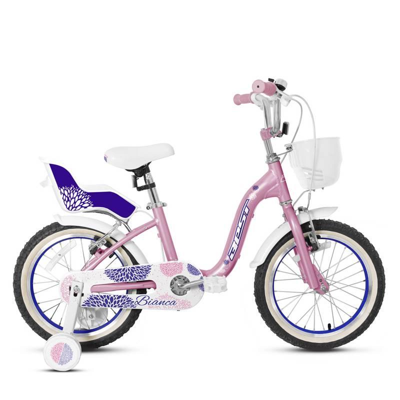 BEST - Bicicleta Best Bianca Aro 16 R