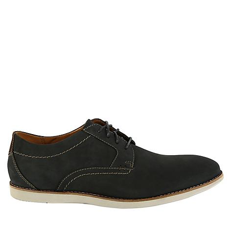 Clarks Plain Nubuck Zapatos Raharto Hombre Blue 6ygYbf7v