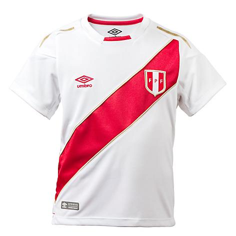 Umbro PERU HOME - Equipación de clubes - white/red hm7vQkXL