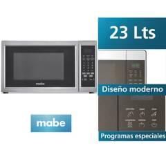MABE - Horno Microondas HMM23PSX 23 Litros Inox
