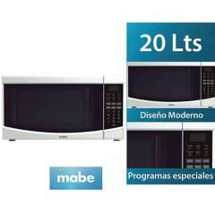 MABE - Horno Microondas 20 Lts Blanco