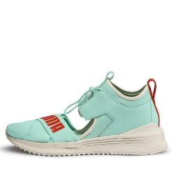 Puma - Zapatillas para niño, Piscina verde-blanco-gren-turb, 38