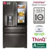 LG - Refrigerador 895 Lt  French door GM84SXD Negro