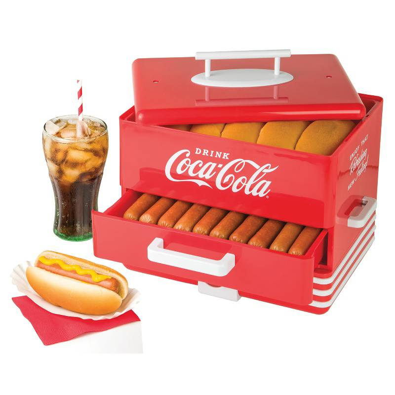 NOSTALGIA - Vaporera de Hot Dog Coca Cola