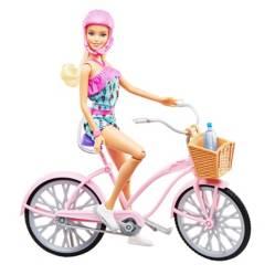 BARBIE - Muñeca Paseo en Bicicleta